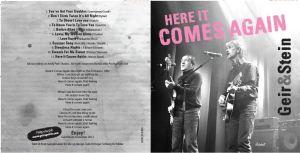Cover til ny CD
